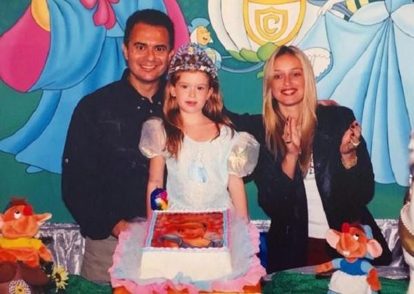 Marina relembra nas redes sociais sua festa de princesa  (Foto: Reprodução Instagram )