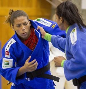 Rafaela Silva treino seleção brasileira judô (Foto: Divulgação/CBJ)