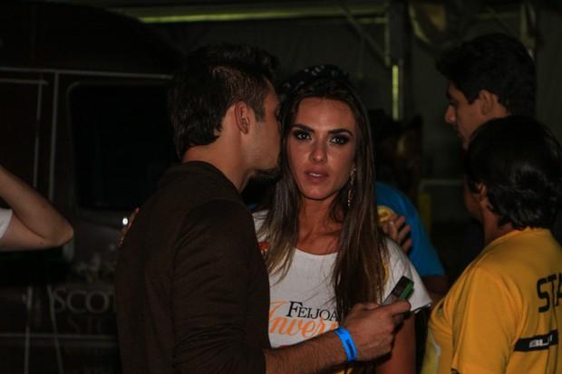 Nicole Bahls e  Ricardo Barbosa (Foto: Thais Aline e Danilo Carvalho / Ag. Fio Condutor)