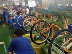 Caloi Linha de produção, em Manaus (Foto: Divulgação)