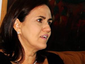 """Virgína Ferreira: """"Situação é muito crítica"""". (Foto: Rafael Barbosa/G1)"""