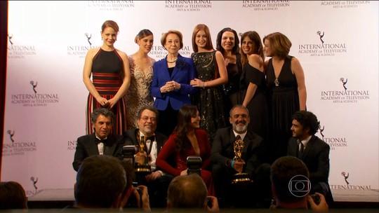 Duas produções da Globo conquistam o prêmio Emmy Internacional