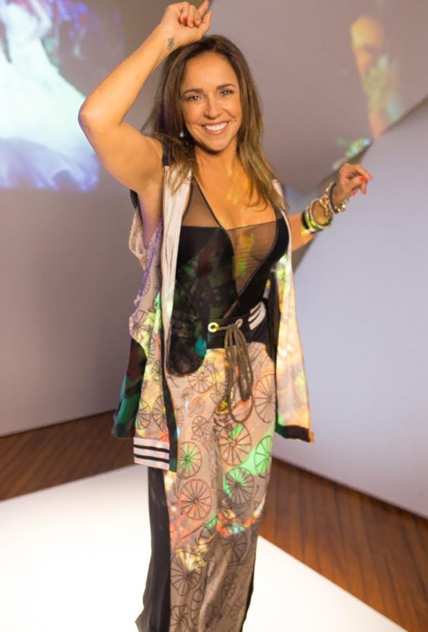 Daniela Mercury (Foto: Bruno Melero / AgNews)