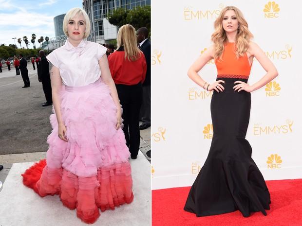 Looks com saia e blusa no tapete vermelho do Emmy 2014 (Foto: Getty Images)