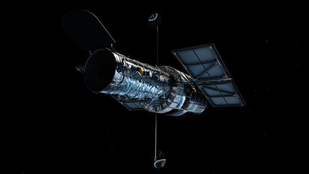 O telescópio Hubble, da NASA (Foto: Nasa)