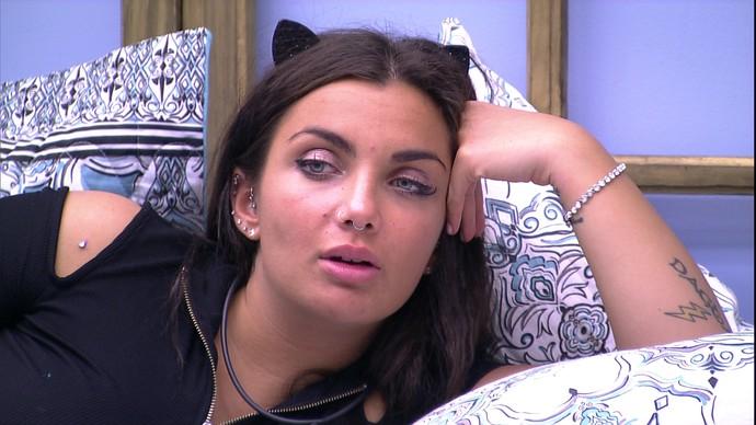 Elettra BBB17 (Foto: TV Globo)