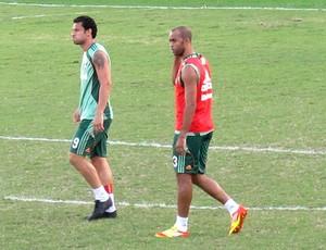 Fred Leandro Euzebio treino Fluminense (Foto: Rafael Cavalieri / Globoesporte.com)