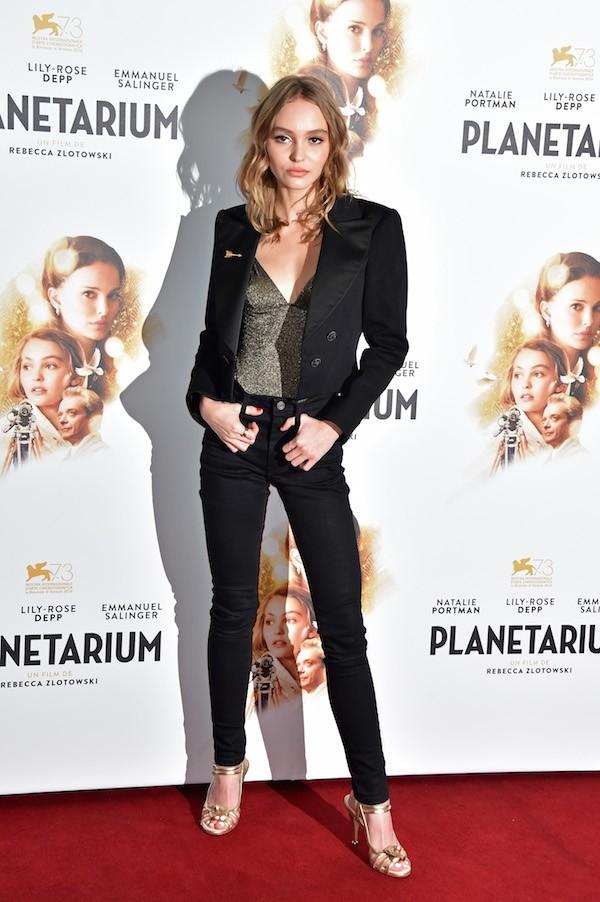 A atriz Lily-Rose Depp (Foto: Getty Images)