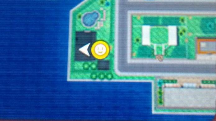 Pokémon Sun e Moon: Entre na mansão situada neste ponto do mapa (Foto: Reprodução / Thomas Schulze)