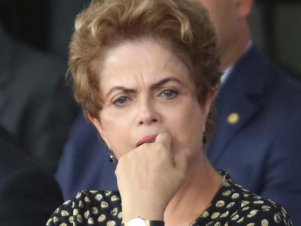 A presidente Dilma inaugurou museu em Congonhas, MG, nesta terça (15) (Foto: Cristiane Mattos/Futura Press/Estadão Conteúdo)