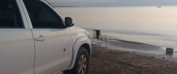 Operação multa 4 motoristas nas praias de Belterra (Divulgação/Polícia Civil de Belterra)