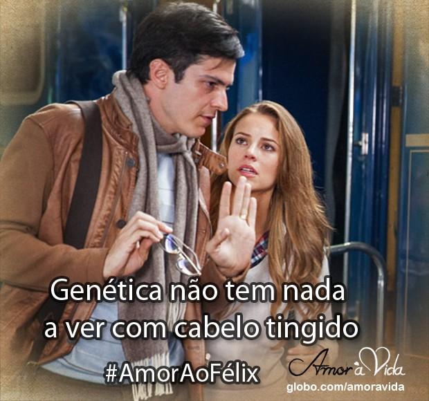 Lição do Félix (Foto: Amor à vida/TV Globo)