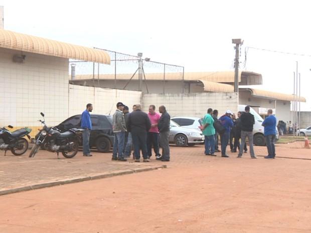 Agentes da Fundação Casa entram em greve em Campinas (Foto: Reprodução/ EPTV)