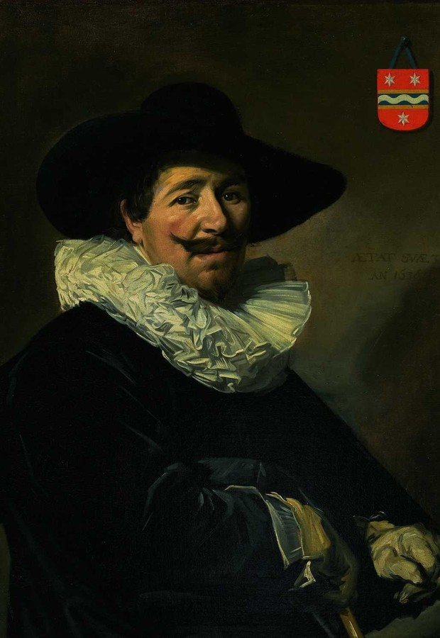 """O Capitão Andries van Hoorn"", pintura de Frans Hals, que está no acervo do MASP (Foto: Divulgação)"