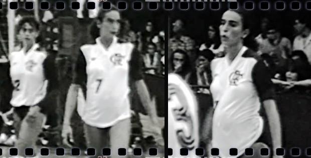 Isabel grávida eu atleta (Foto: Reprodução TV Globo)