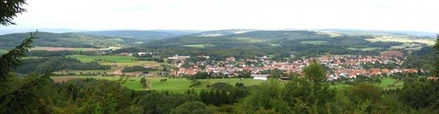 O vilarejo Theley (Foto: Wikimedia Commons )