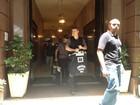 Corregedoria da polícia deixa a sede da Liesa após oito horas de buscas