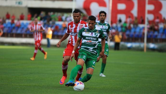 CRB x Murici, no Rei Pelé (Foto: Ailton Cruz/Gazeta de Alagoas)