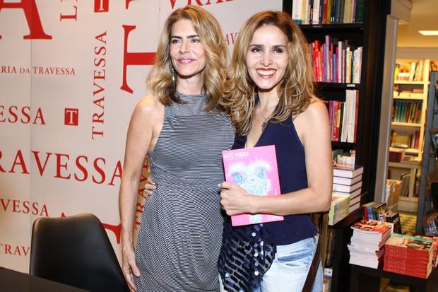 Leona Cavalli no lançamento do livro de Maitê Proença (Foto: Raphael Mesquita / Foto Rio News)