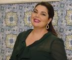 Fabiana Karla em cena como Perséfone | Raphael Dias/ TV Globo