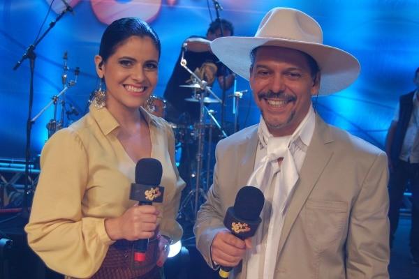 Shana Müller e Neto Fagundes  (Foto: Adam Scheffel/RBS TV)