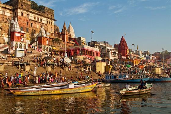 Rio Ganges, na Índia (Foto: Jonathan & Angela Scott/JAI/Corbis)
