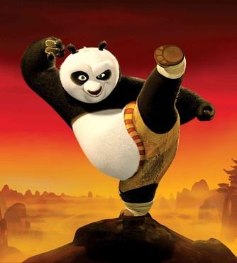 As feras de Kung Fu Panda, agora em sua tela de computador