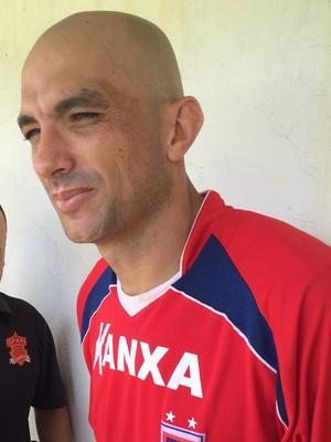 Goleiro Marcos Paraná  (Foto: Ana Helena Goebel)