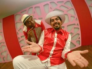 Nico e Lau. (Foto: Fablicio Rodrigues)