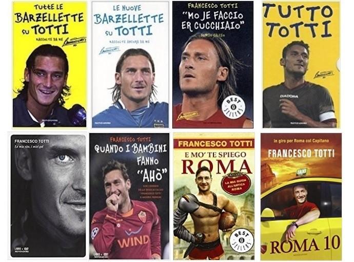 Livros de Totti (Foto: Reprodução)