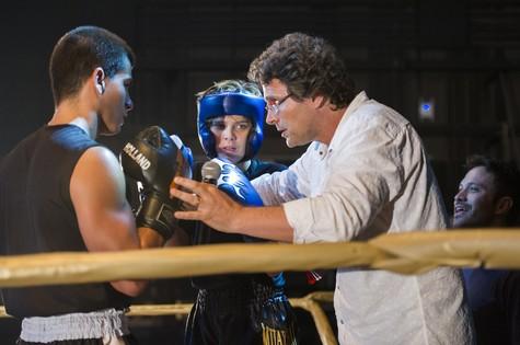 Luiz Henrique Rios dirige cena de Malhação (Foto: Estevam Avellar/TV Globo)
