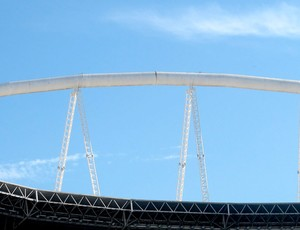 estádio Engenhão vazio (Foto: Fred Huber)