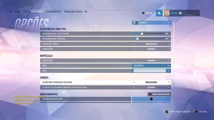 Como acessar o menu com funções escondidas em Overwatch (Foto: Reprodução/Felipe Vinha)