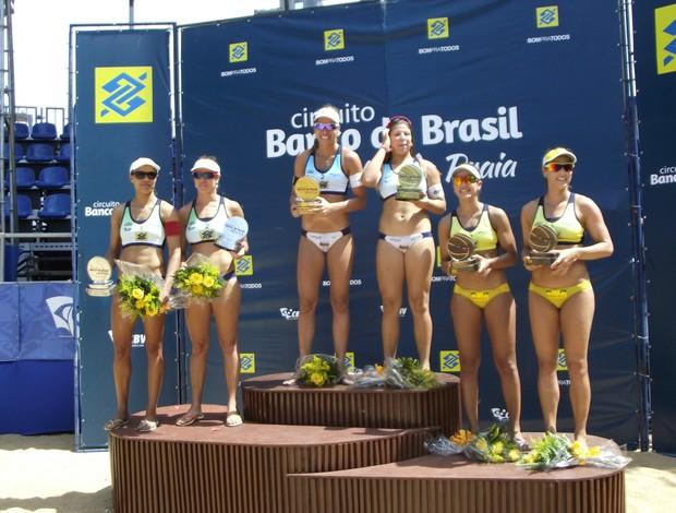 Lili Rebeca vitória circuito brasileiro de vôlei de praia (Foto: Túlio Moreira)