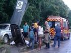Motociclista morre após bater em lombada eletrônica no Vale de SC