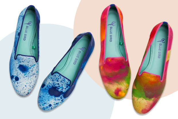 D.Wicki e Blue Bird Shoes (Foto: Arte Vogue Online)