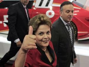 dilma salão (Foto: Nacho Doce/Reuters)
