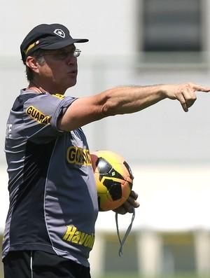 Oswaldo de Oliveira Botafogo treino (Foto: Satiro Sodré / SSPress)