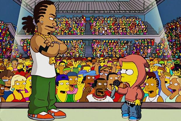 Especial hip hop de Os Simpsons (Foto: Divulgação)