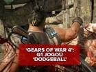'Gears of War 4' ganha clima de final da Copa em 'Dodgeball'; G1 jogou