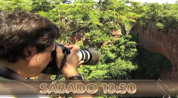 Neste sábado (16) vamos fazer um passeia de observação das nossas paisagens (Foto: TVCA)