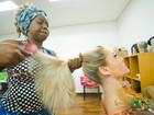 Giselle Prattes mostra bastidores de sua preparação em 'Os Saltimbancos'