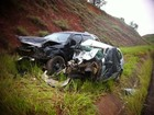 Duas pessoas morrem e três ficam feridas em acidente na BR-381
