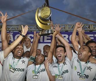Estrela do Norte Campeão Capixaba 2014 (Foto: Ricardo Medeiros/A Gazeta)