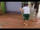 Após chuvas, Uberaba e Uberlândia registram queda de árvores e estragos