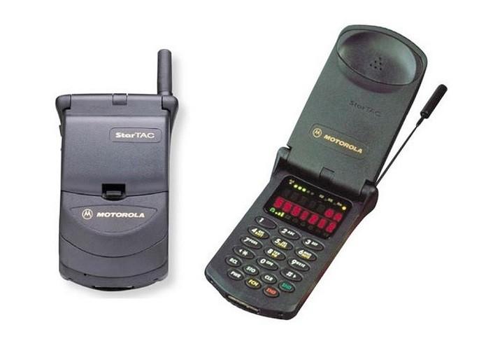 O clássico StarTAC, da Motorola (Foto: Divulgação/Motorola)