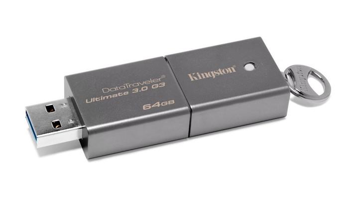 Vale a pena comprar um Pendrive com USB 3.0? Confira nossa análise (Foto: Divulgação/Kingston)