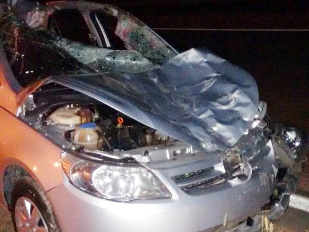 Acidente foi na rodovia João Leme dos Santos, em Salto de Pirapora (Foto: Arquivo pessoal/Adriano Vincler)