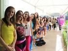 Gaúchas fazem fila para serem a nova bailarina do Domingão do Faustão