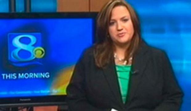 ennifer Livingston criticou em programa ao vivo um telespectador que atacou sua aparência. (Foto: Reprodução)